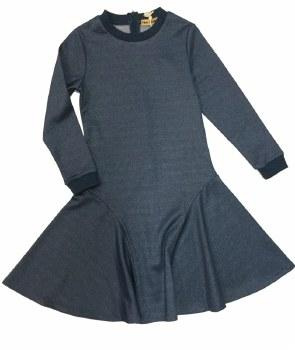 Shimmer Dress Blue 10