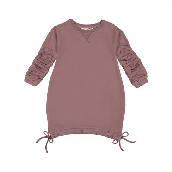 Dress w/ Gathered Sleeves Blus