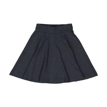 Rib Skirt Charcoal 16