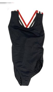 Girls Bathing Suit Black 6
