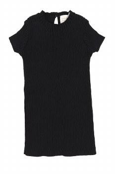 Analogie Knit S/S Sweater Blac
