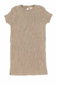 Analogie Knit S/S Sweater Oatm