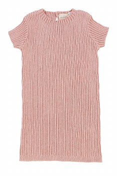 Analogie Knit S/S Sweater Pink