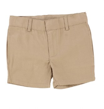 Lil Legs Cotton Shorts Oatmeal