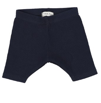 Lil Legs Ribbed Shorts Navy 4T
