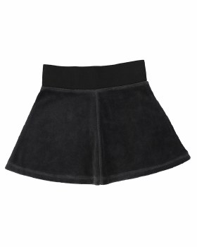 Lil Legs Velour Skirt Grey 7