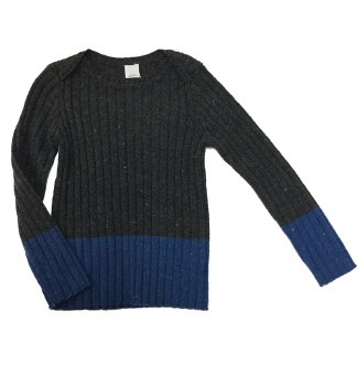 Speckled Ribbed Sweater Charco