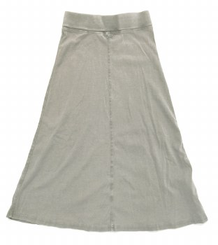 Long Tshirt Skirt Grey 7