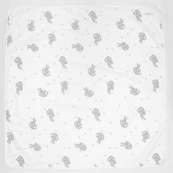 Rag Doll Blanket White