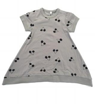 Dress W/ Cherries Grey/Black 5
