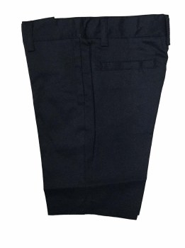 Linen Shorts Navy 6