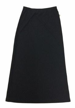 Long Slinky Skirt Black 8