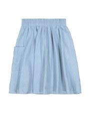 Denim Pocket Skirt Light 10