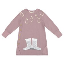 Dress W/ Rainboots Clay 7