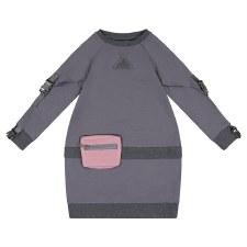 Dress W/ Pouch Grey 7