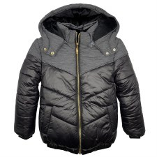 Winter Coat Grey/Black 4