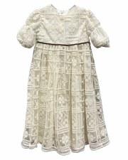 Crochet Dress Ivory 4