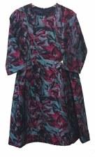 Absract Print Dress Multi 18