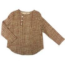 Cobblestone Shirt Rust 8