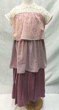 Tiered Robe Blush 12