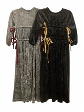 Robe W/ Side Ties Black 2