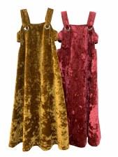 Velour Jumper Robe Gold 7