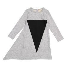 Triangle Dress Grey/Black 10