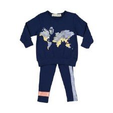 Baby Map Set Blue 24M