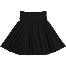 Circle Ponte Skirt Black 10