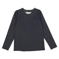 Rib Pocket Tshirt Charcoal 4