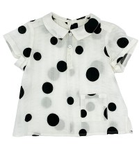 Circles Shirt Black/White 18M