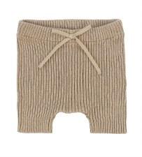 Analogie Knit Shorts Oatmeal 1