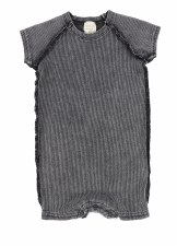 Analogie Rib Romper Grey Wash