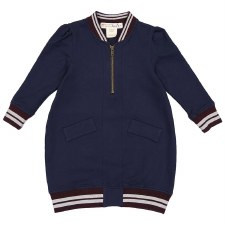 Bomber Dress Navy 8