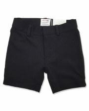 Skinny Stretch Shorts Black 3