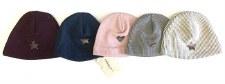 Ribbed Knit Hat Grey 0-3M