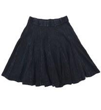 Ribbed Skirt Dark 6