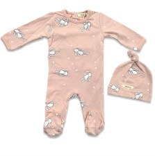 Rag Doll Stretchie Set Pink 1M