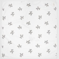 Balloon Shapes Blanket White/G