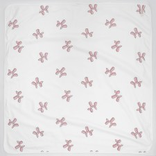 Balloon Shapes Blanket White/P