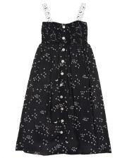 Stars Jumper Robe Black/White