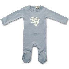 Baby Stretchie Blue 9M