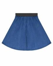Denim Cicle Skirt Medium 6