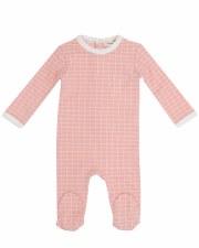 Grid Stretchie Pink 3M