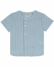 S/S Shirt W/ Lines Teal 2