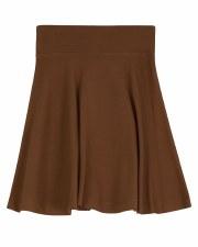 Girls Skirt Cognac 7