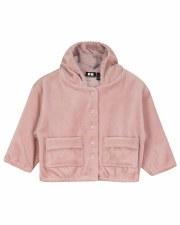 Velour Jacket Blush 12M