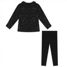 Gold Speckled Baby Set Black 9