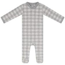 Checkered Stretchie Grey 3M