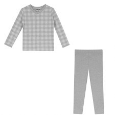 Checkered PJ Grey 5